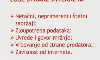 """Pametno i bezbedno"" u OŠ ""J.J.Zmaj"""
