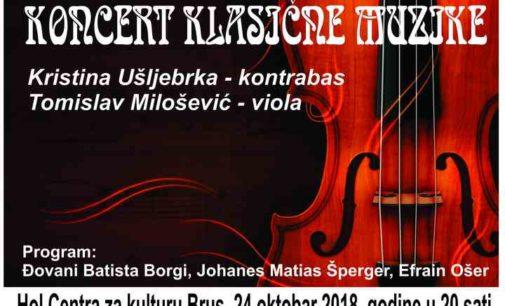 Koncert u Centru za kulturu Brus