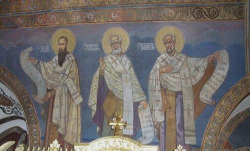 Danas praznujemo Sveta tri Jerarha