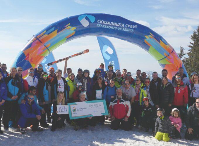 """Prikupljeno preko 700 hiljada dinara u okviru ski trke """"I ja se borim"""""""
