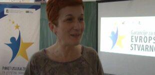 EU mladi – Info dan, u Srednjoj školi u Brusu