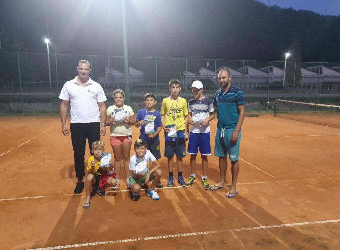 Pobednici preobraženjskog Teniskog turnira