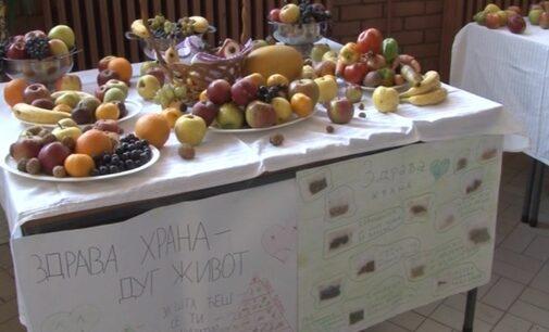 "Izložba zdrave hrane u O.Š. ""J.J.Zmaj"""