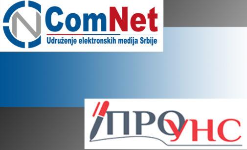 Saopštenje za javnost ComNet-a i Prouns-a