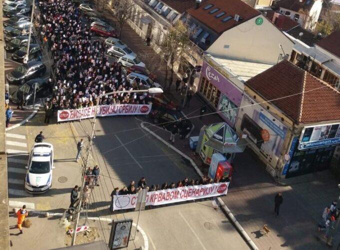 Protest niških naprednjaka