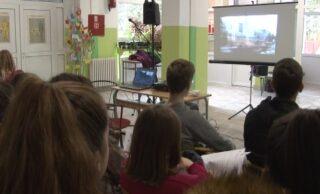 Predavanje o prevenciji AIDS-a u Srednjoj školi Brus