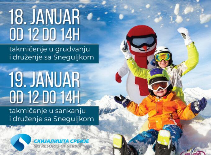 Obeležavanje Svetskog dana snega 18. i 19. januara na Kopaoniku