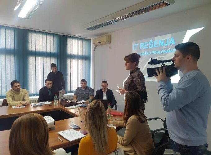 Prezentacija IT rešenja u PKS RPK Kruševac