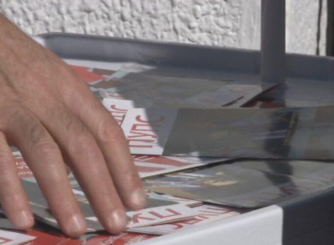Prikupljanje potpisa Partija ujedinjenih penzionera Srbije – Brus