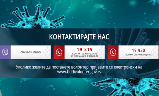 INFORMACIJE O NOVOM KORONA VIRUSU – 08.04.2020.