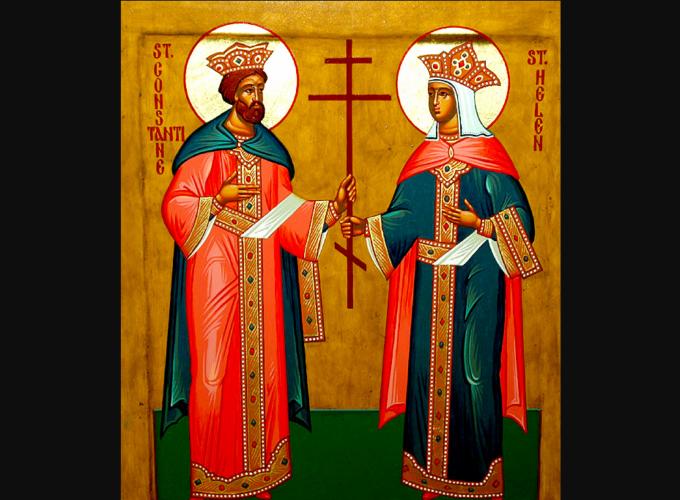 Danas je praznik sveti car Konstantin i carica Jelena