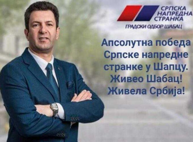 SNS PROGLASIO APSOLUTNU POBEDU! Posle 20 godina u Šapcu se menja vlast