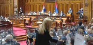 Konstituisan 12. saziv Skupštine Srbije