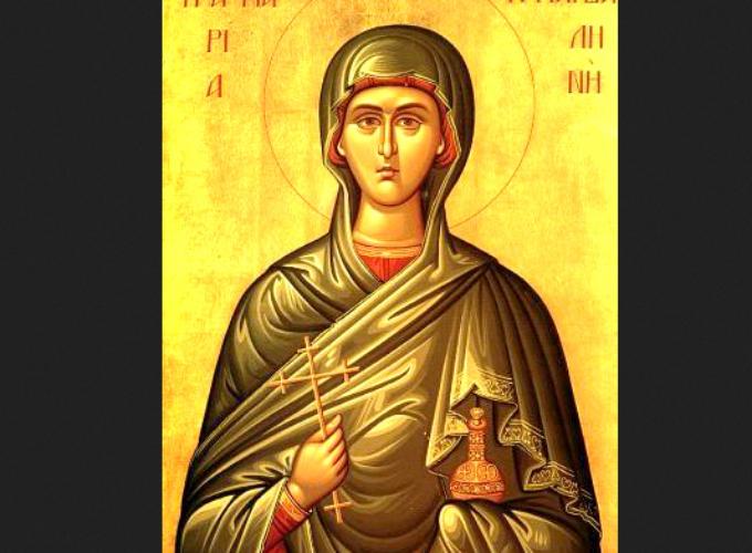 Danas je  Blaga Marija