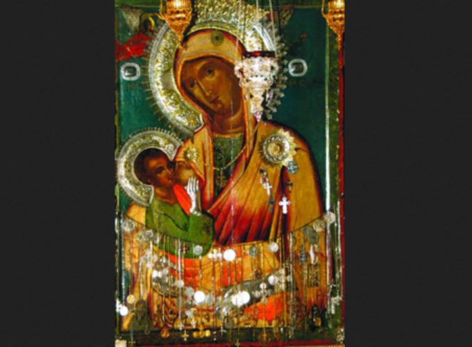 Čudotvorna Ikona Presvete Bogorodice Mlekopitateljnice