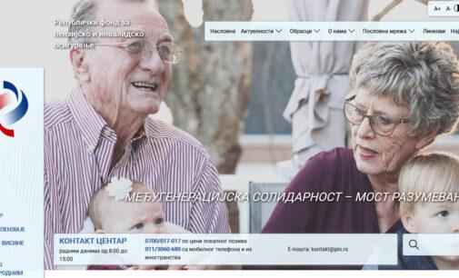 Počela isplata penzija