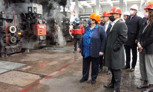 Delegacija Ministarstva privrede i Privredne komore Srbije u poseti Sremskom okrugu