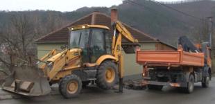 Predsednica opštine Brus u obilasku radova na rekonstrukciji dela glavne gradske ulice