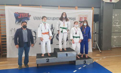 Uspeh bruskih džudista na prvenstvu Centralne Srbije u Nišu