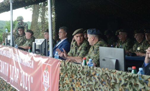 Izvedena taktička vežba 246. bataljona ABHO na Rtnju