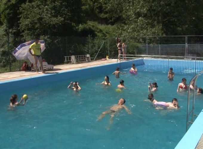 Počeo sa radom bazen u Bruskoj Banji