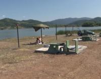 Plaža jezera Ćelije mesto za odmor u letnjim mesecima