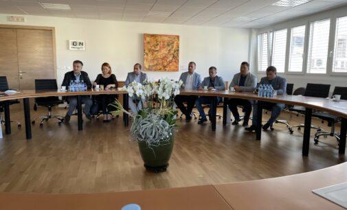Predstavnici opštine Brus u radnoj poseti gradu Žalecu