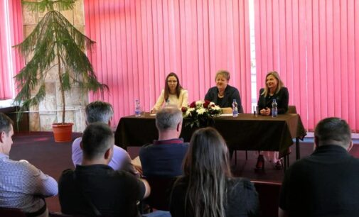 RPK:Sastanak Ministarke privrede  Anđelke Atanasković sa sa privrednicima Opštine Brus