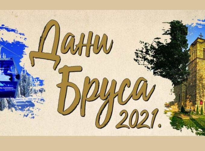 """Program manifestacije """"Dani Brusa 2021."""""""