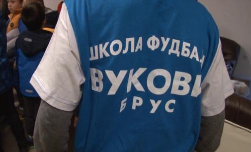 """Donacija školi fudbala """"Vukovi"""""""
